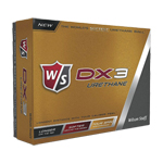 8037 Wilson Staff DX3 Urethane Golf Balls