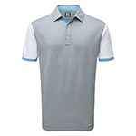 9975 FootJoy Stretch Pique Colour Block and Contrast Trim - (Athletic Fit)